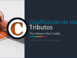 Clasificación de los Tributos - Video